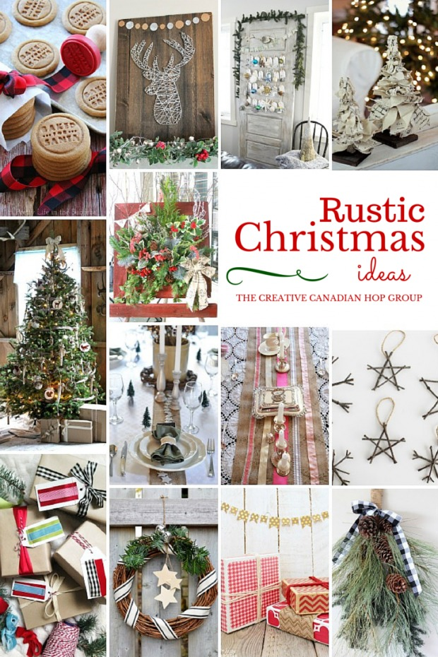 DIY Rustic Christmas Ideas
