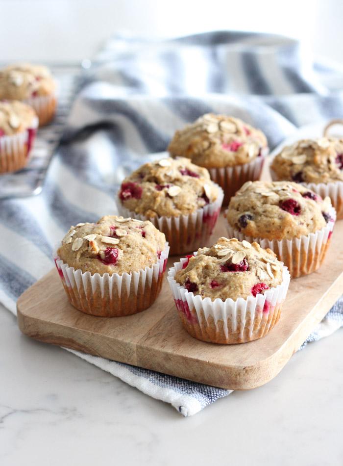Cranberry Orange Oat Muffins Gluten Free Recipe