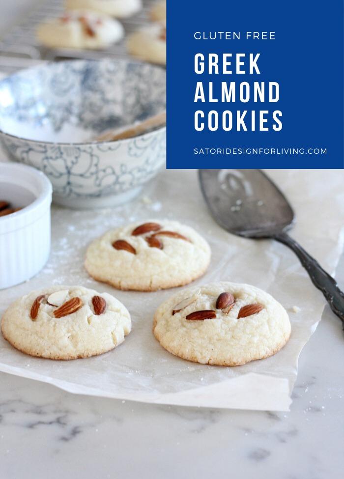 Greek Almond Cookies Recipe Gluten Free