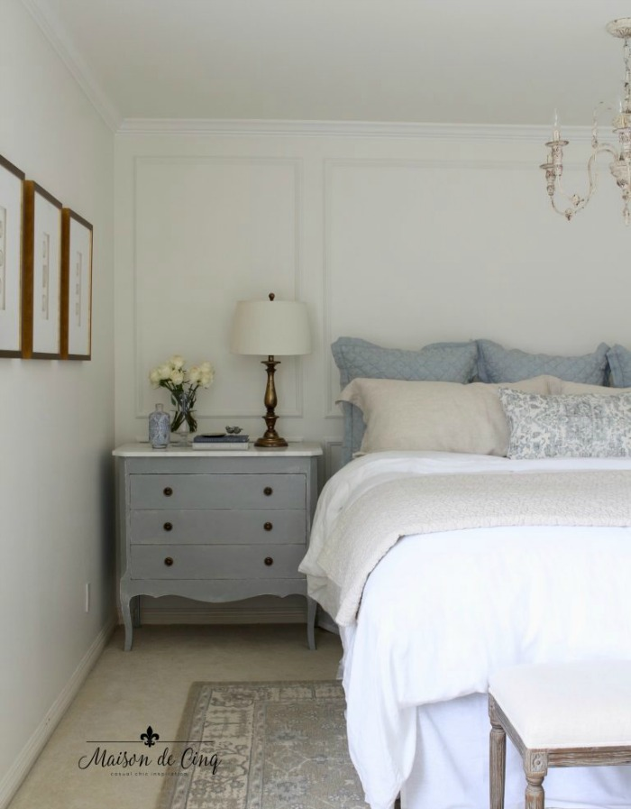 Benjamin Moore White Dove Bedroom