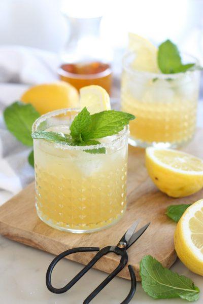 Bourbon Mint Lemonade Cocktail
