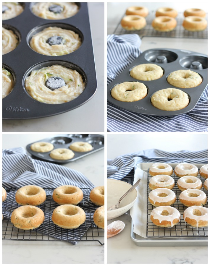 How to Make Gluten Free Baked Zucchini Donuts