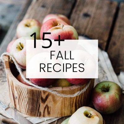 Fall Recipe Collection