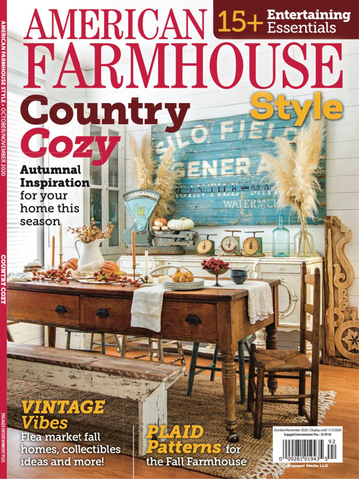 American Farmhouse Style October/November 2020