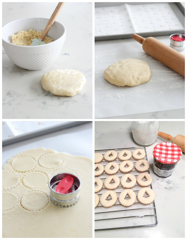 How to Make Gluten Free Linzer Cookies for Christmas