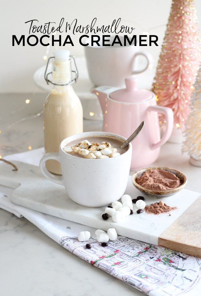 Toasted Marshmallow Mocha Creamer Recipe