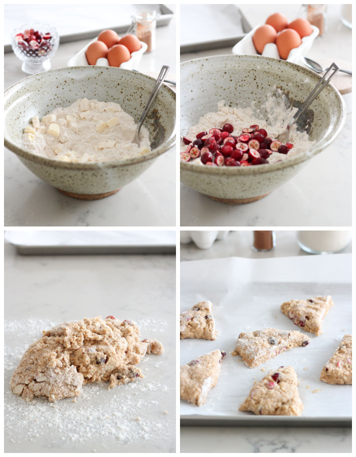 How to Make Cranberry Spice Scones Step-by-Step