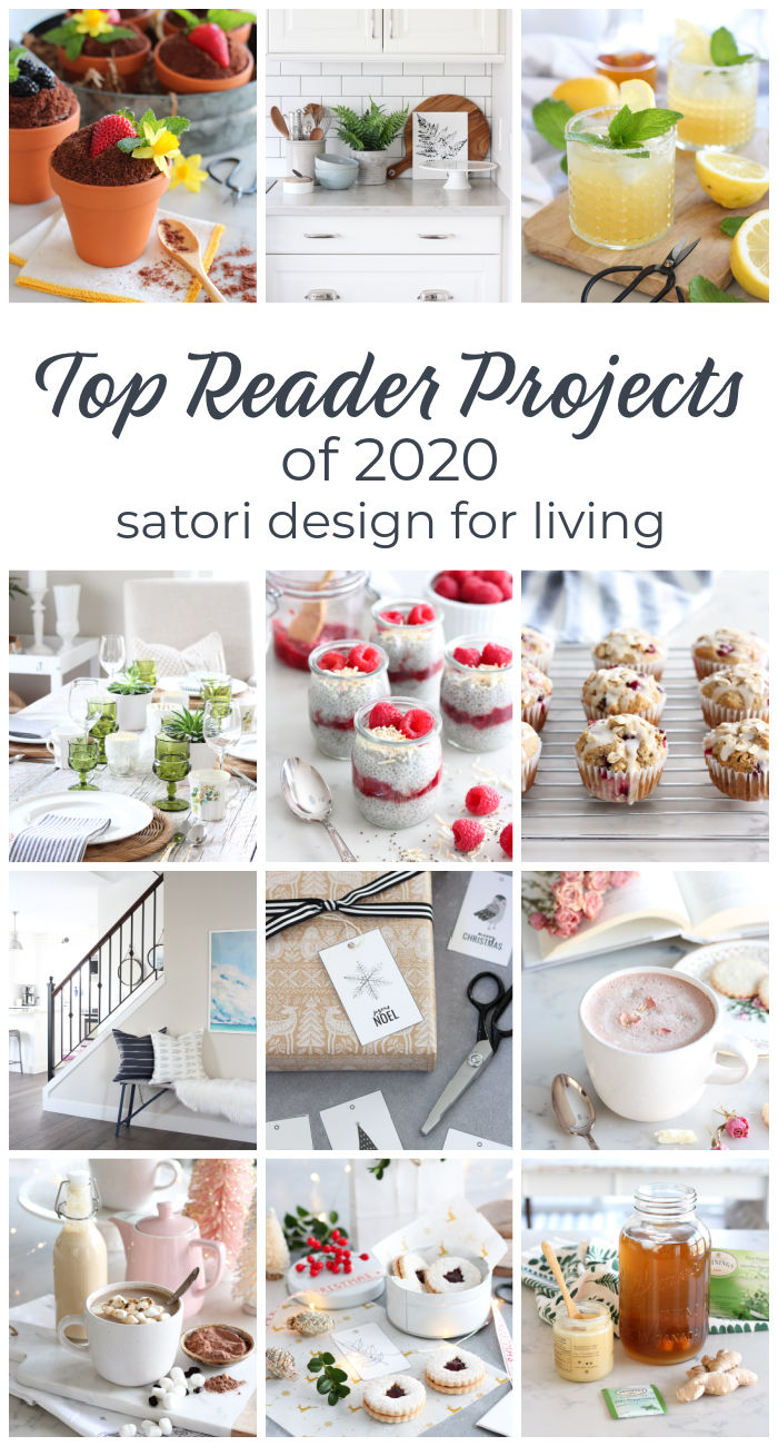 Collection of Top Recipes, Home Projects and Ideas on Satori Design for Living in 2020