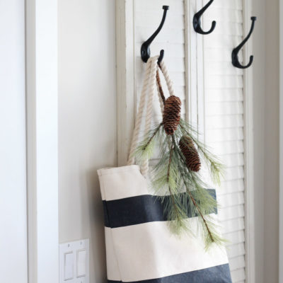 How to Make a Coat Hanger Using Vintage Shutters