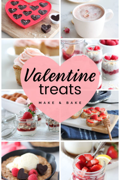 Collection of Valentine's Day Recipes to Make and Bake