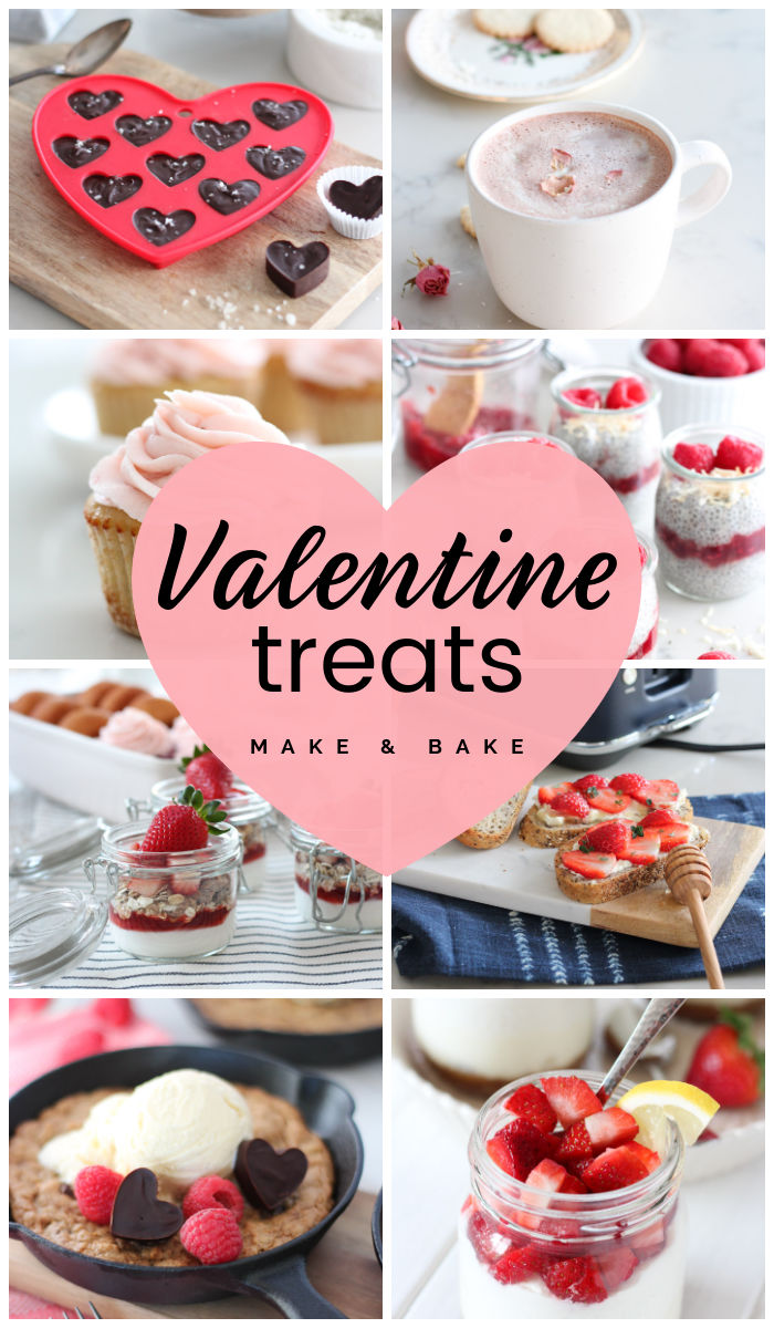 Collection of Valentine's Day Treats to Make and Bake
