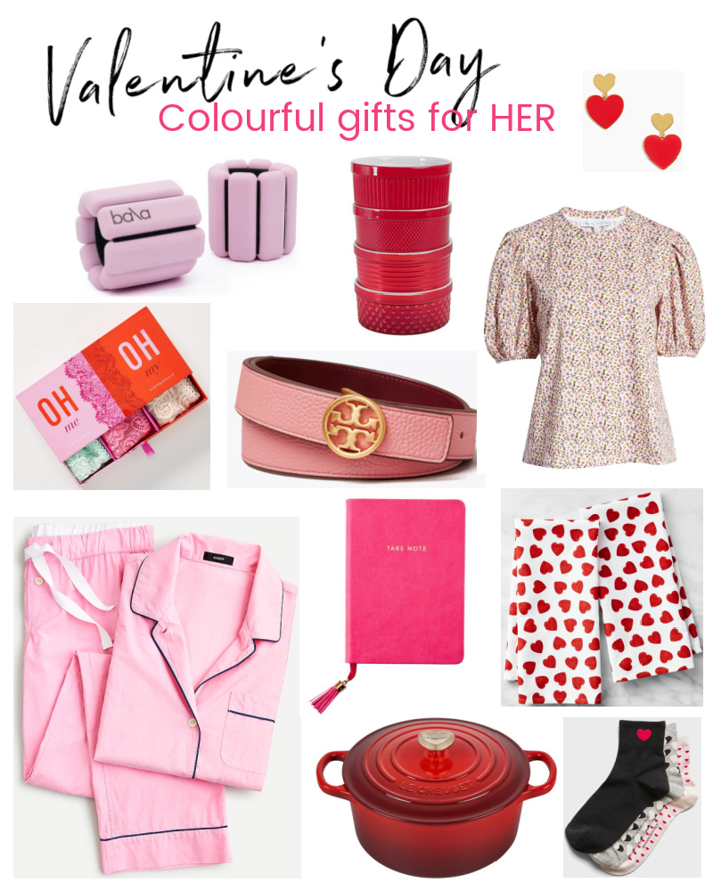 Valentine's Day Colourful Gift Ideas for Her