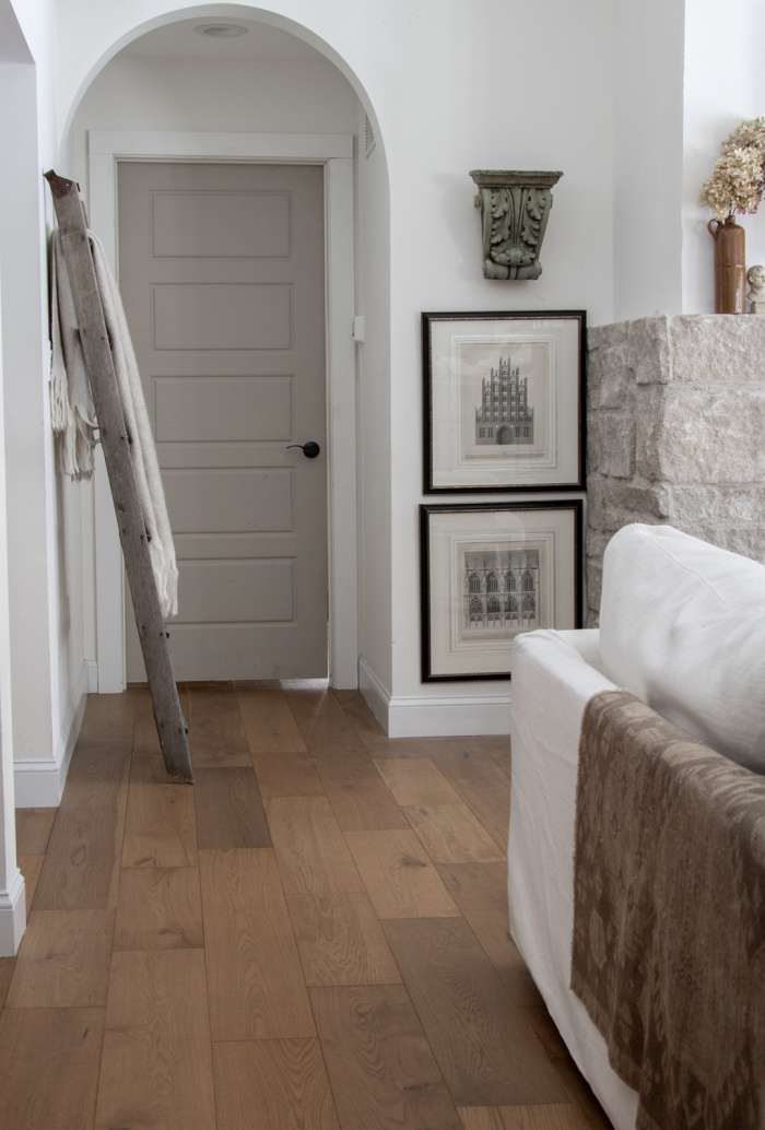Benjamin Moore Stone Hearth Door - Seeking Lavender Lane Favourite Paint Colours