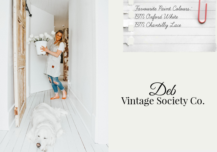 Favourite Paint Colours by Deb of Vintage Society Co.