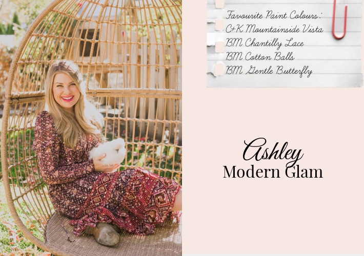Top Paint Colour Picks by Ashley of Modern Glam
