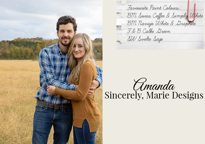 Favourite Home Paint Colours by Amanda of Sincerely, Marie Designs