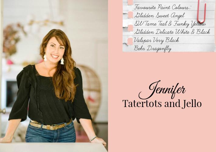 Favourite Paint Colours by Jennifer of Tatertots and Jello