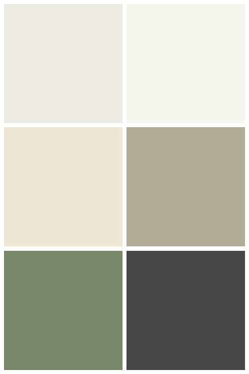 Favourite Home Paint Colours - Sincerely, Marie Designs