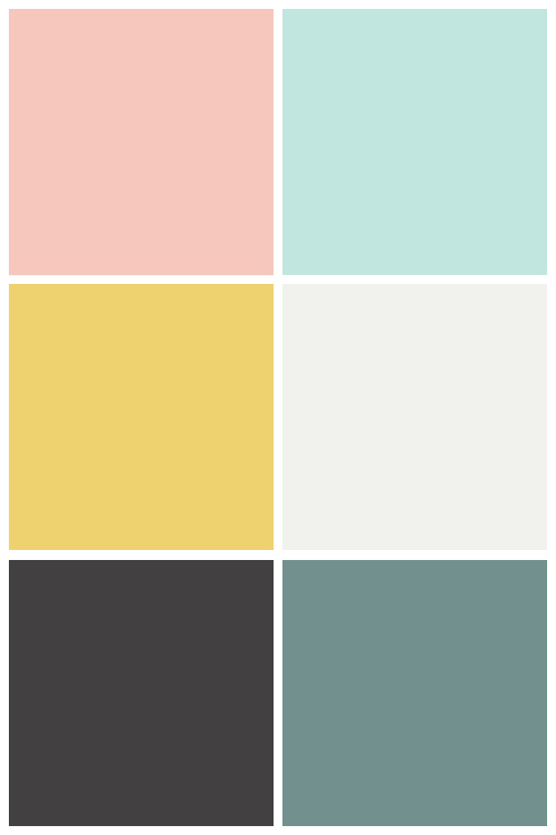 Fun Paint Colours Used in My Home - Tatertots and Jello