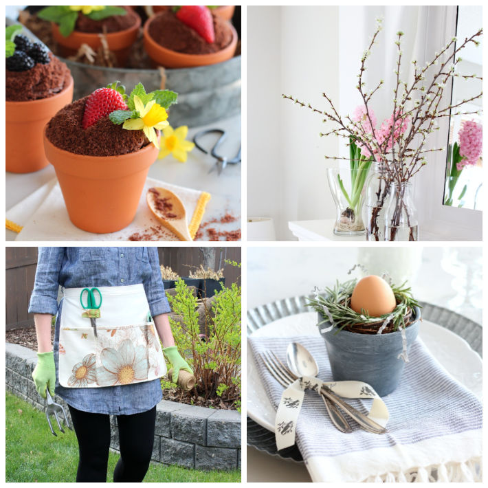 DIY projects, decorating ideas and recipes that embrace the SPRING season, including Mother's Day, Easter, gardening and more!