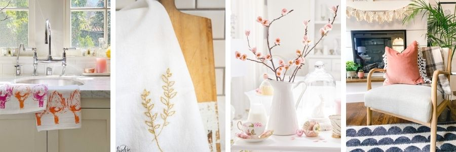 Spring Fabric Crafts and Ideas