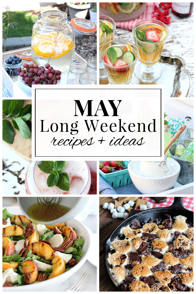 May Long Weekend Recipes and Entertaining Ideas