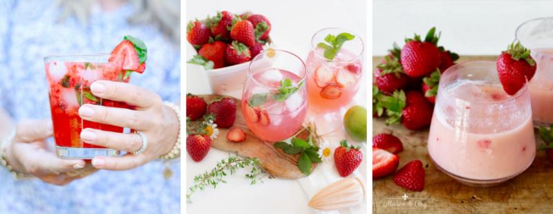 Strawberry Drink Recipes