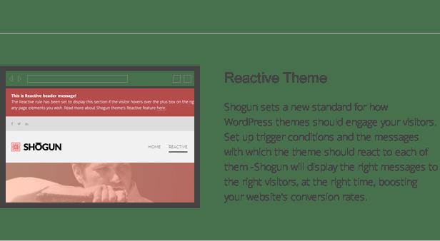 shogun features - reactive