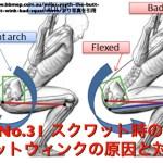 No.31 スクワット時の腰痛予防!バットウィンクの原因と対策