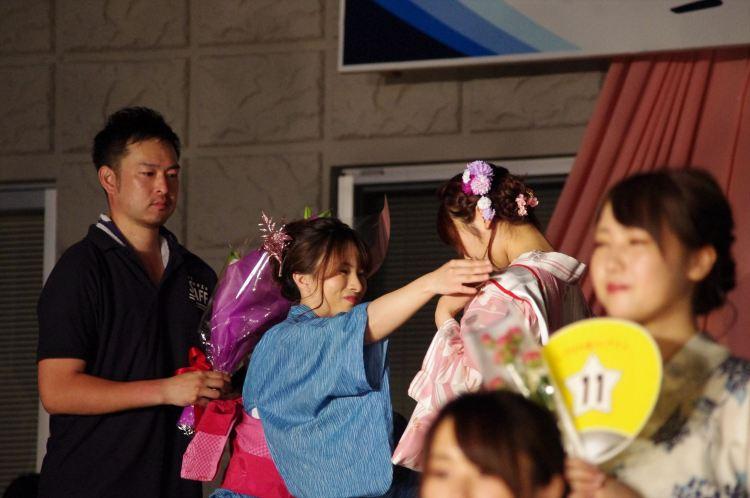 ミスしづはた姫表彰式
