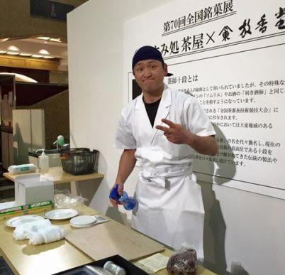 佐藤屋八代目の和菓子教室「全国銘菓展」