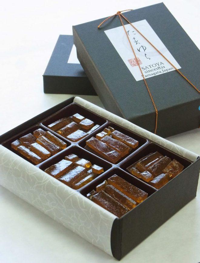 佐藤屋の乃し梅チョコ「たまゆら」は新たな山形銘菓。