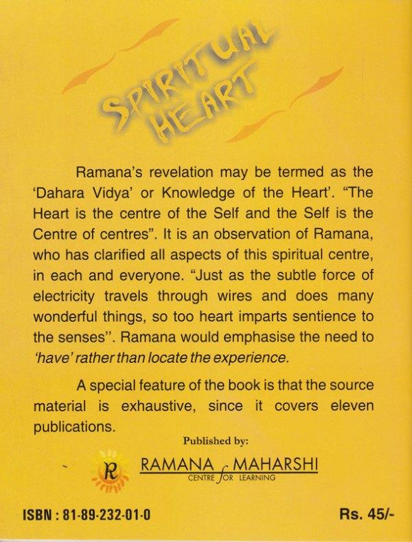 Spiritual Heart Backcover