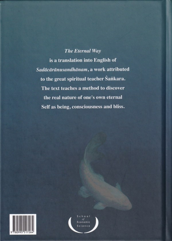 The Eternal Way Backcover