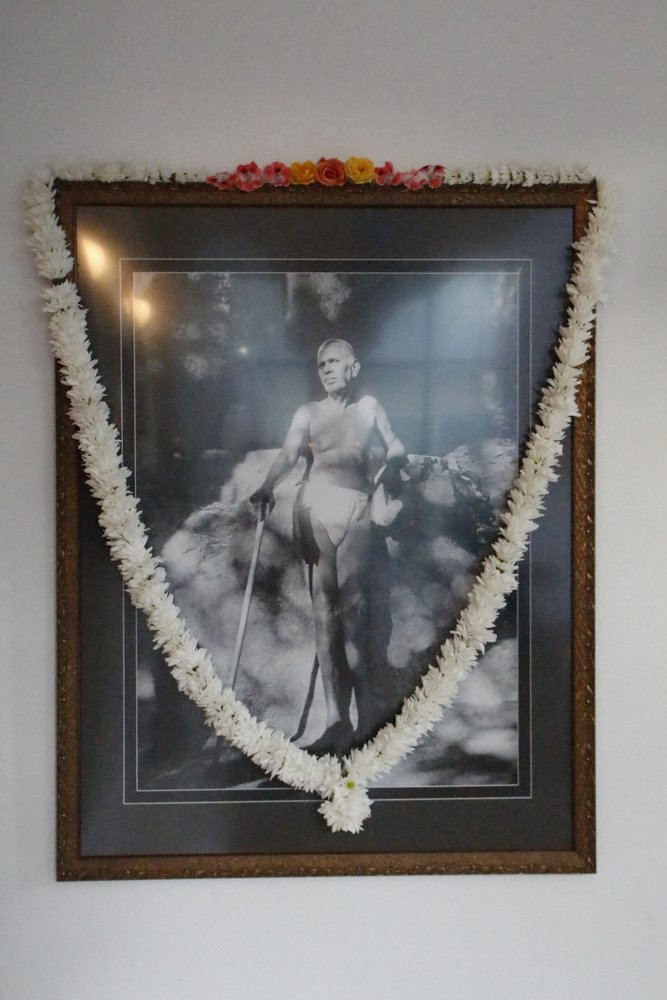 Sri Ramana at Arunachala