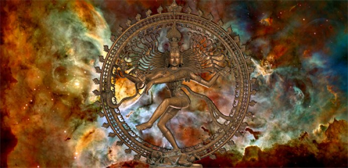 nataraja with nebula