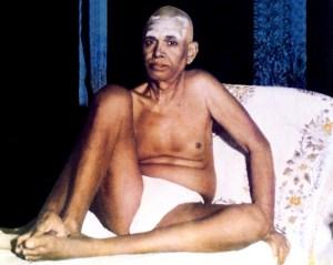 Sri Ramana - wearing vibhuti
