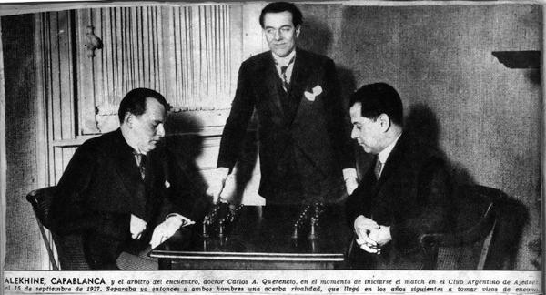 Alekhine Capablanca_WCC_1927