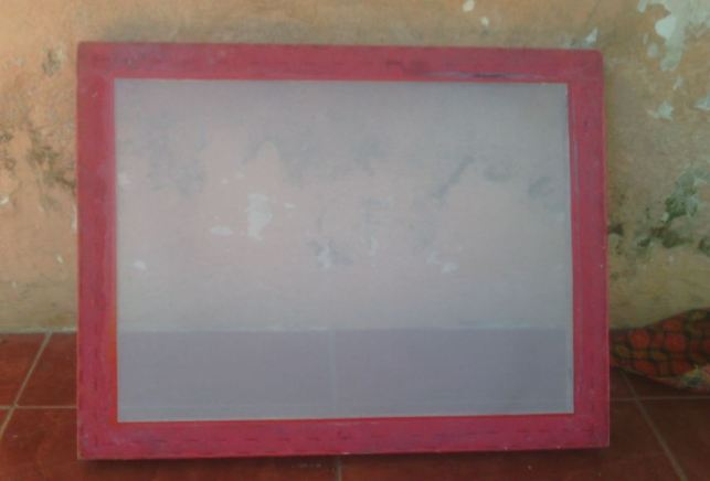 screen sablon manual murah