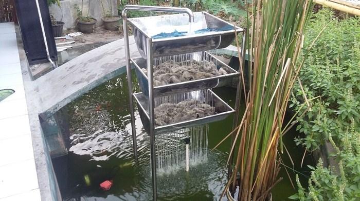 filter ikan koi sederhana