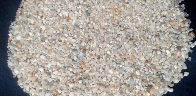 pasir silika penjernih air kolam ikan koi