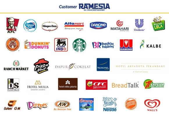 customer ramesia mesin