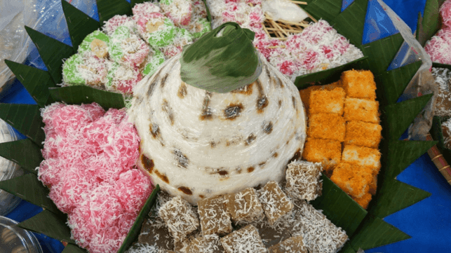 makanan khas sunda awug
