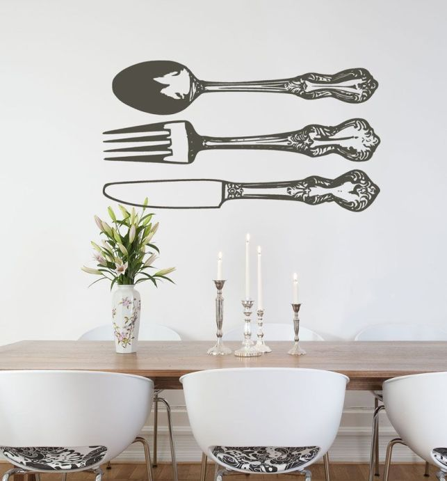 Silverware Wall Decals - pinterestcom