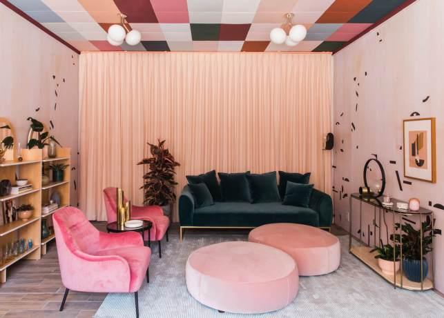 Colorful Living Room Furniture Idea - articlecom