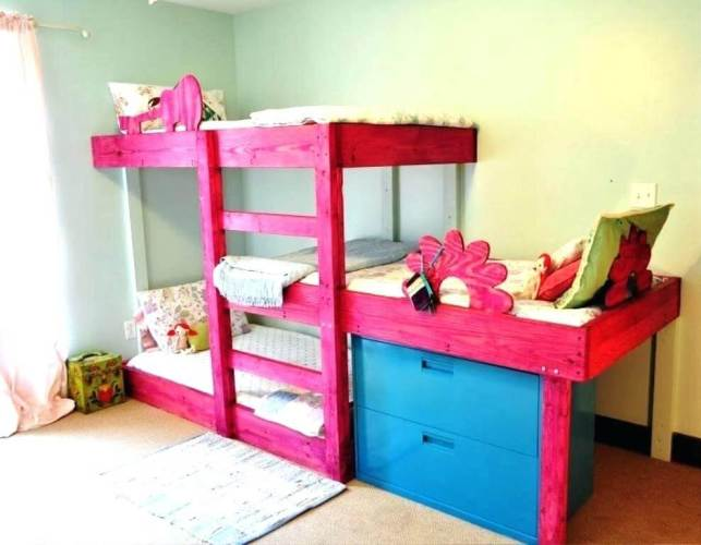 Hand-Crafted Bunk Bed for Kids Ideas - clubguruclub