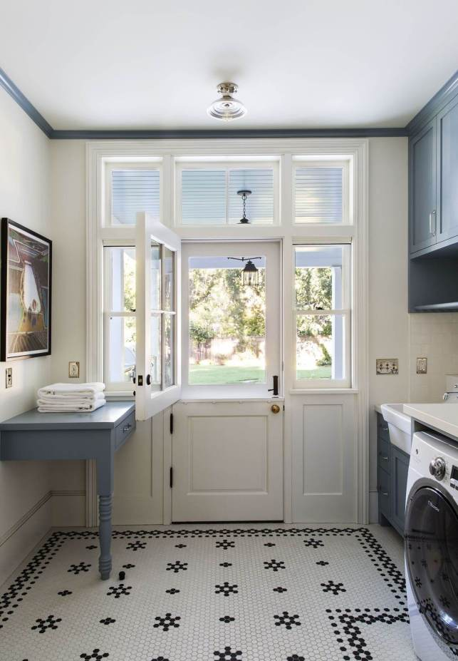 Laundry Room Ideas with Country Charm - pinterestcom