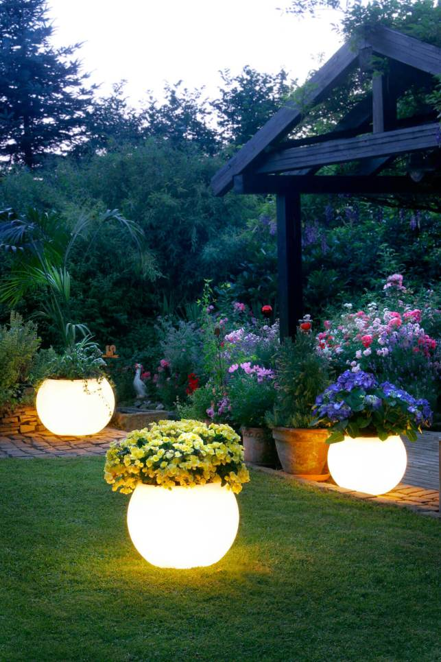 Planters That Glow in the Dark - homebnccom