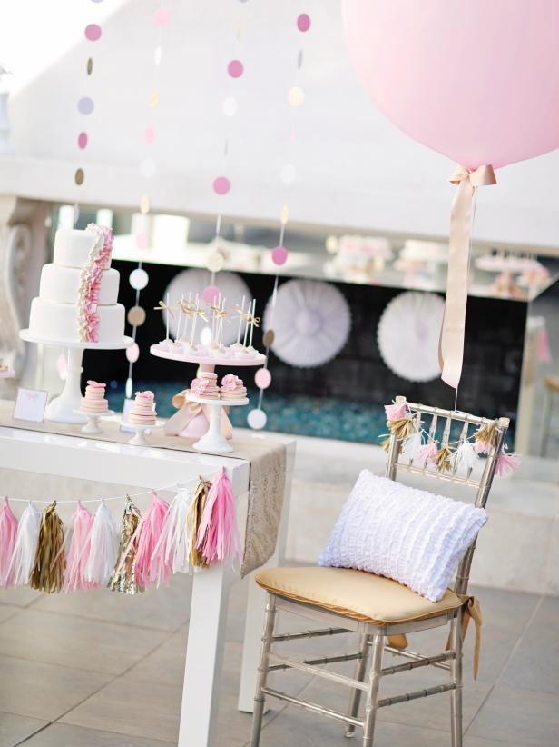 Trending Tassel Garland for Birth Decoration Ideas - hgtvcom