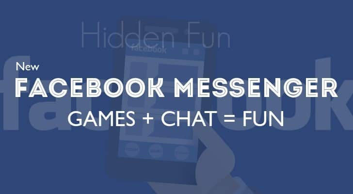 HIDDEN SECRET GAMES ON FACEBOOK MESSENGER.